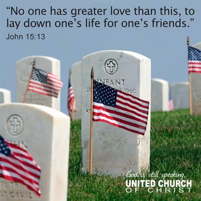 UCC Memorial Day