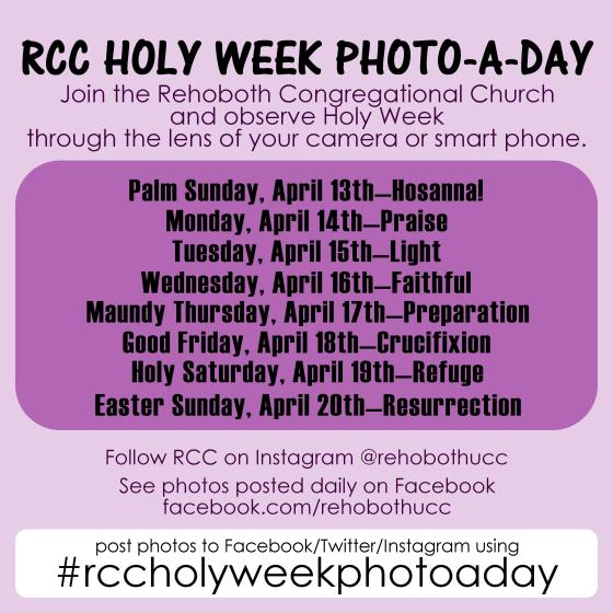 Photo A Day Holy Week 2014